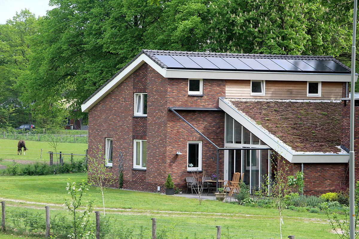 Nieuwbouw woning aan de Horsterweg, Ermelo